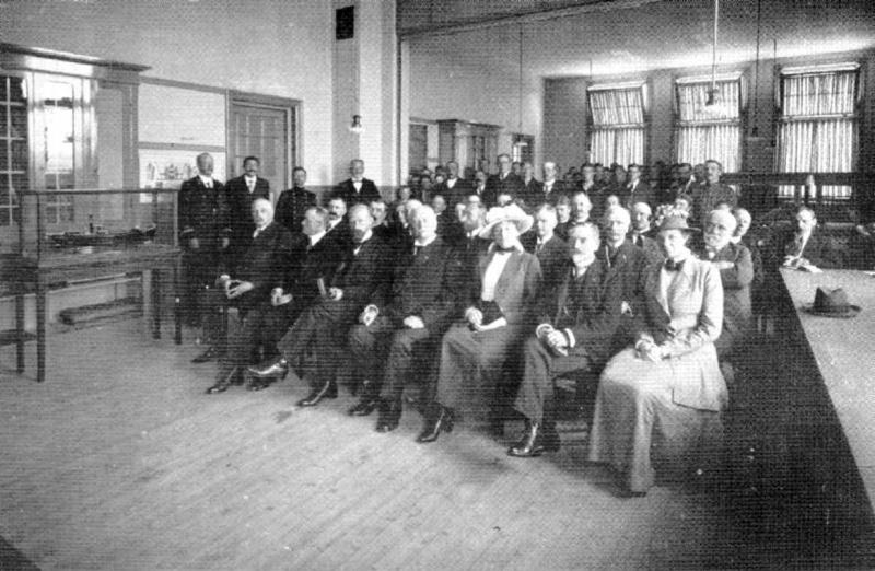 Opening Visserijschool op 3 september 1916
